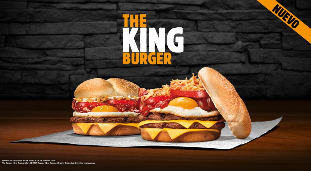 Nueva hamburguesa Burger king huevo