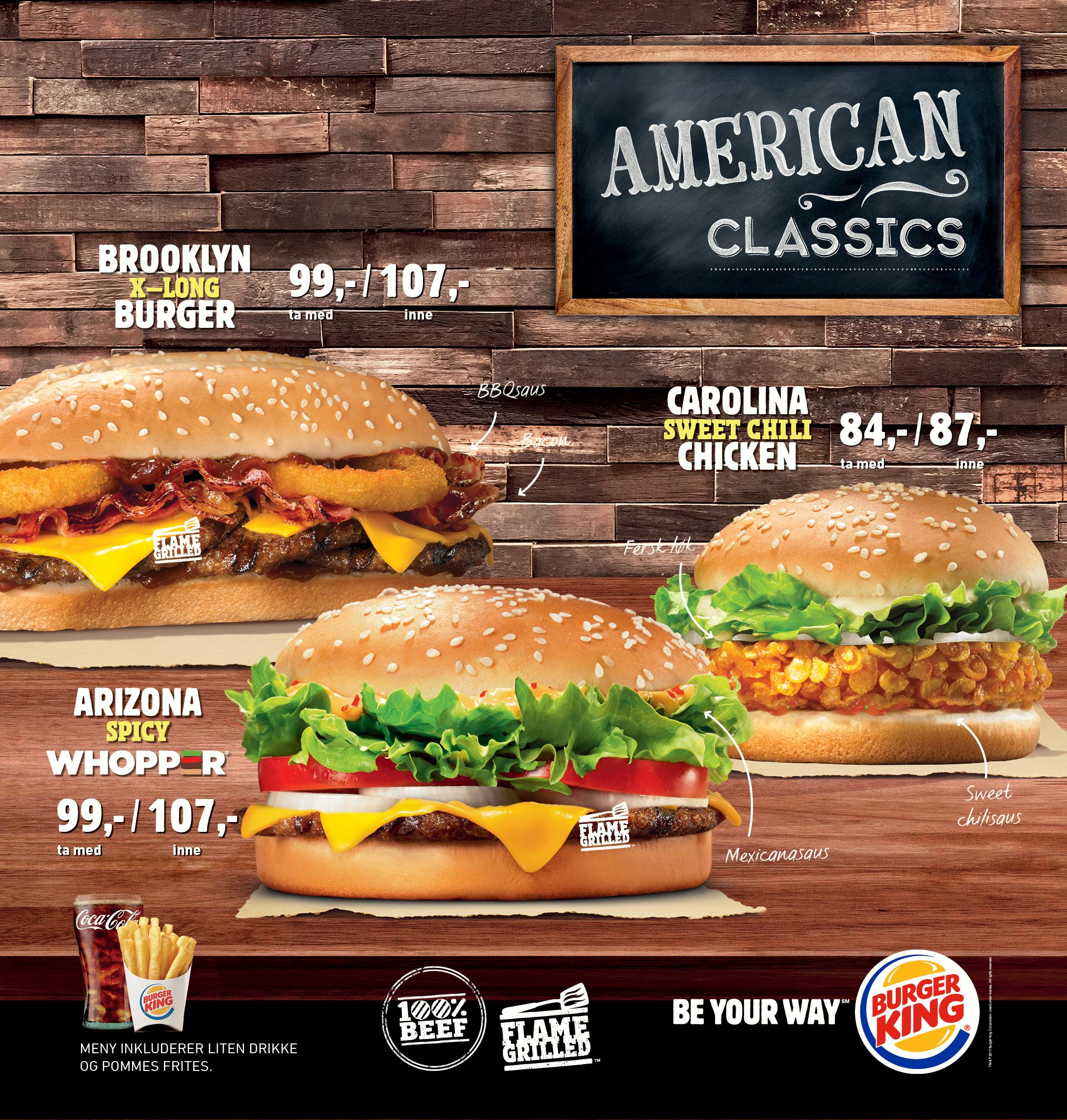 burger king norge