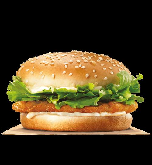 crispy chicken burger king