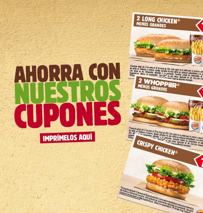 Burger King España Ofertas Promociones