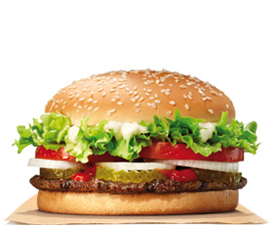 Burger King Espana Menu