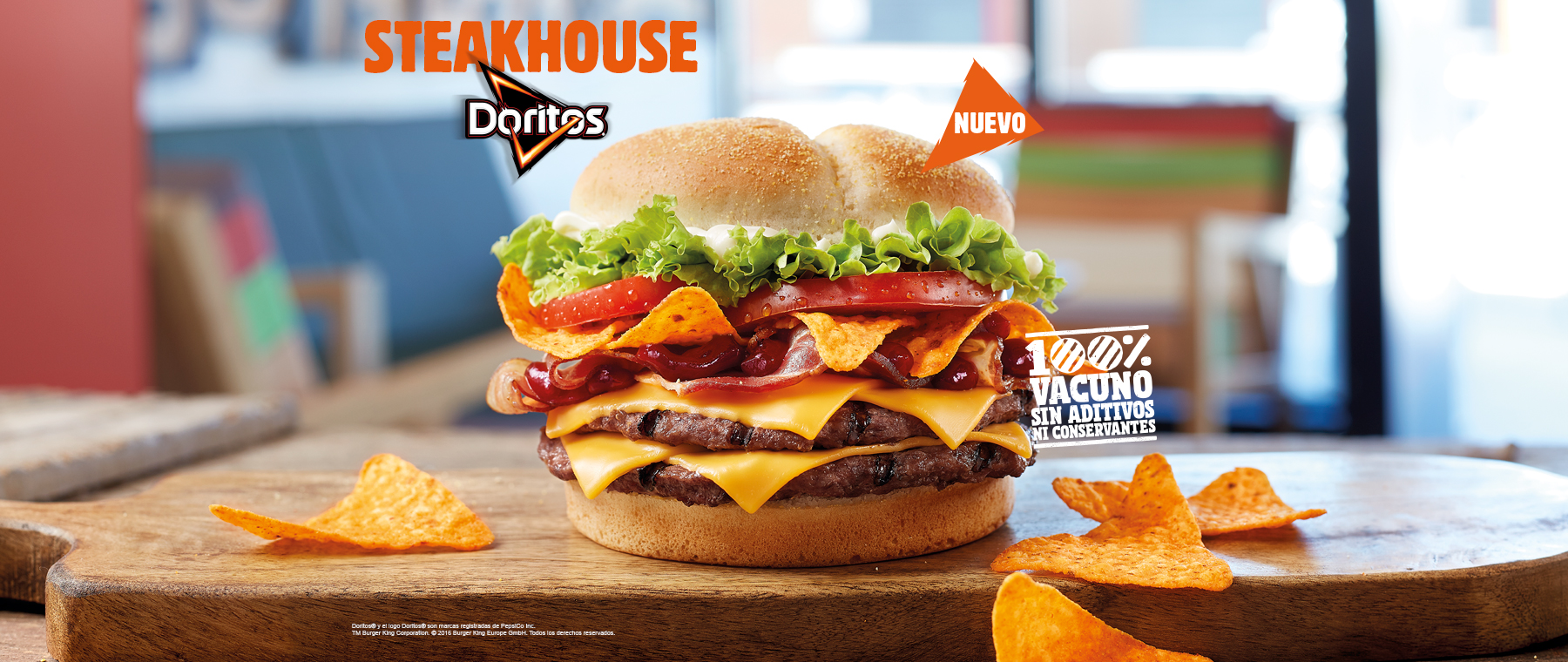 Burger King Spain Dumps Doritos On A Burger And Calls It A Day Neogaf